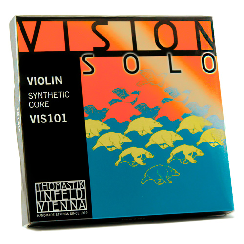 CORDAS THOMASTIK VISION SOLO VIS101 VIOLINO 3/RE PRATA