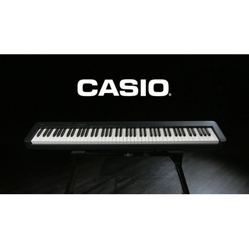 PIANO CASIO STAGE DIGITAL PRETO MODELO CDP-S100BKC2-BR + ESTANTE