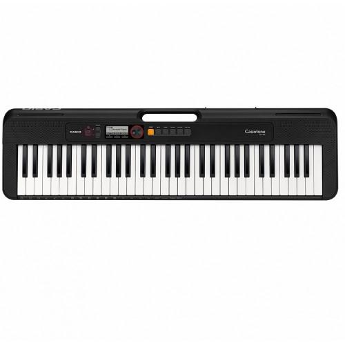 TECLADO MUSICAL CASIOTONE BASICO  DIGITAL PRETO MODELO CT-S200BKC2-BR