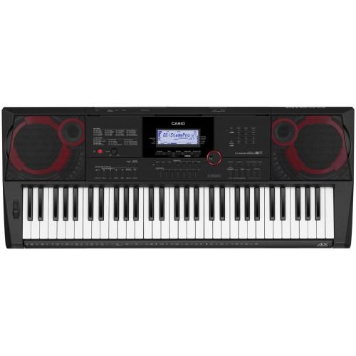 TECLADO MUSICAL CASIO ARRANJADOR DIGITAL PRETO MODELO CT-X3000C2-SC