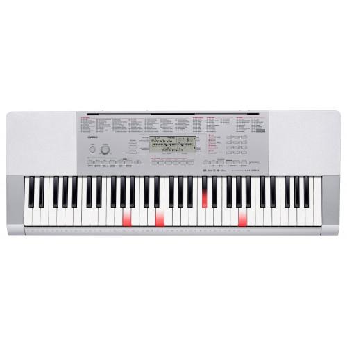 TECLADO MUSICAL CASIO DIGITAL BRANCO COM TECLAS ILUMINADAS  LK-280K2-BR