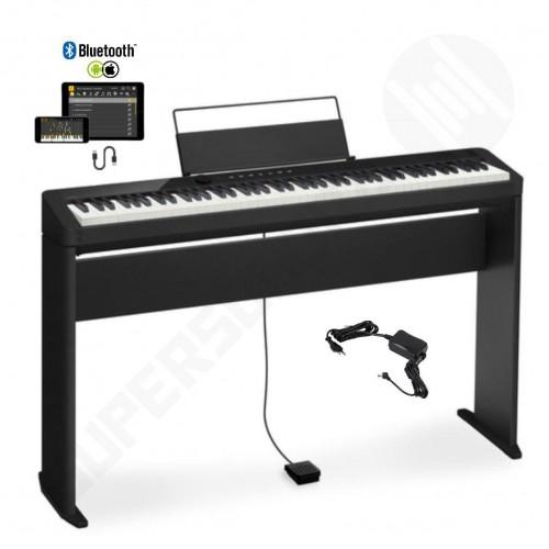 PIANO CASIO PRIVIA DIGITAL PRETO MODELO PX-S1000BKC2-BR + ESTANTE