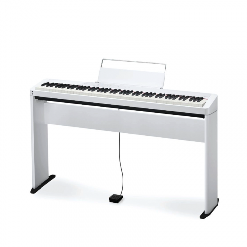 PIANO CASIO PRIVIA DIGITAL BRANCO MODELO PX-S1000WEC2-BR + ESTANTE