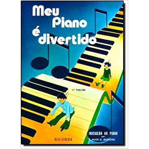 MÉTODO MEU PIANO É DIVERTIDO VOLUME I