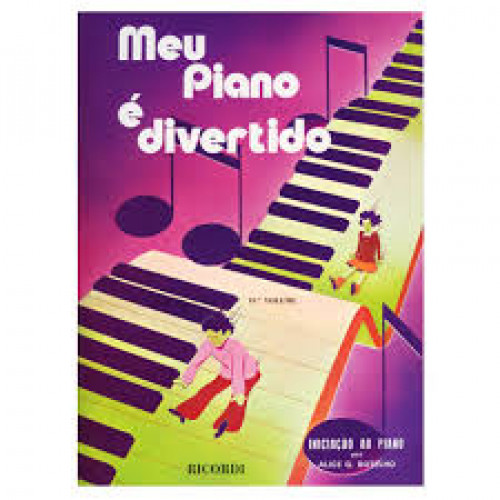 MÉTODO MEU PIANO É DIVERTIDO VOLUME II