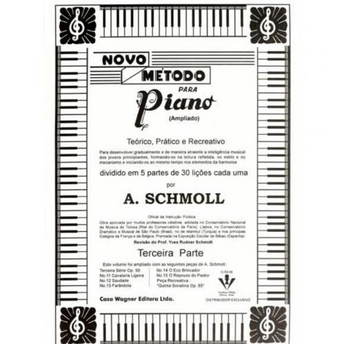 MÉTODO SCHMOLL VOLUME III