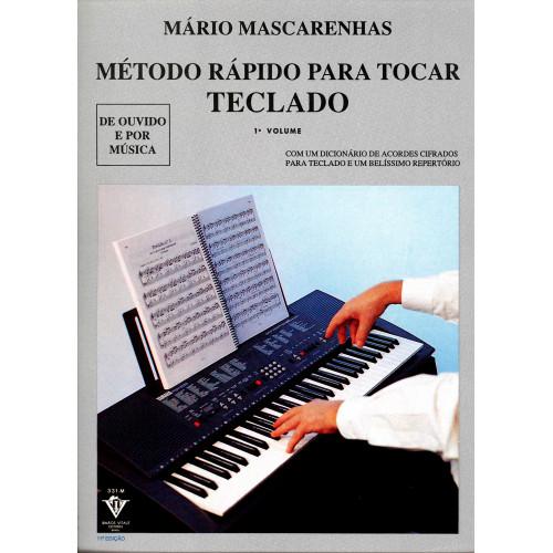 METODO RAPIDO PARA TOCAR TECLADO MASCARENHAS, MARIO